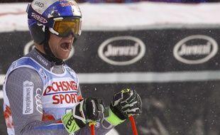Alexis Pinturault a remporté le slalom géant de Coupe du monde de ski alpin de Val d'Isère, le 9 décembre 2017.