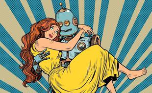 L'amour humain-robot, bientôt une réalité ?