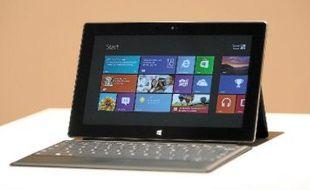 Microsoft a intégré à sa tablette Surface un clavier de seulement 3mm d'épaisseur.
