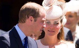 Le prince William et Kate, le 4 juin 2013