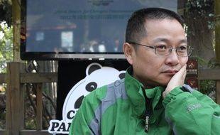 Zhang Zhihe, directeur de la base des pandas de Chengdu, en Chine, le 17 novembre 2012.