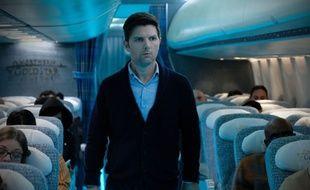 L'acteur Adam Scott joue dans l'épisode «Cauchemar à 30.000 pieds» du nouveau «Twilight Zone», remake d'un des épisodes les plus connus de la série originale.