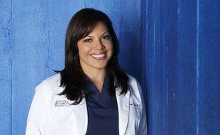 Callie Torres, interprétée par Sara Ramírez dans la série « Grey's anatomy».