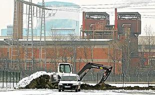 Le site Arcelor-Mittal de Dunkerque.