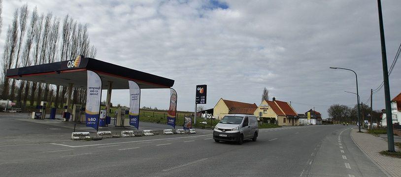 La frontière franco-belge à Baisieux, dans le Nord.