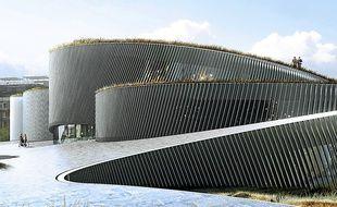 Le bâtiment est prévu pour 2018.