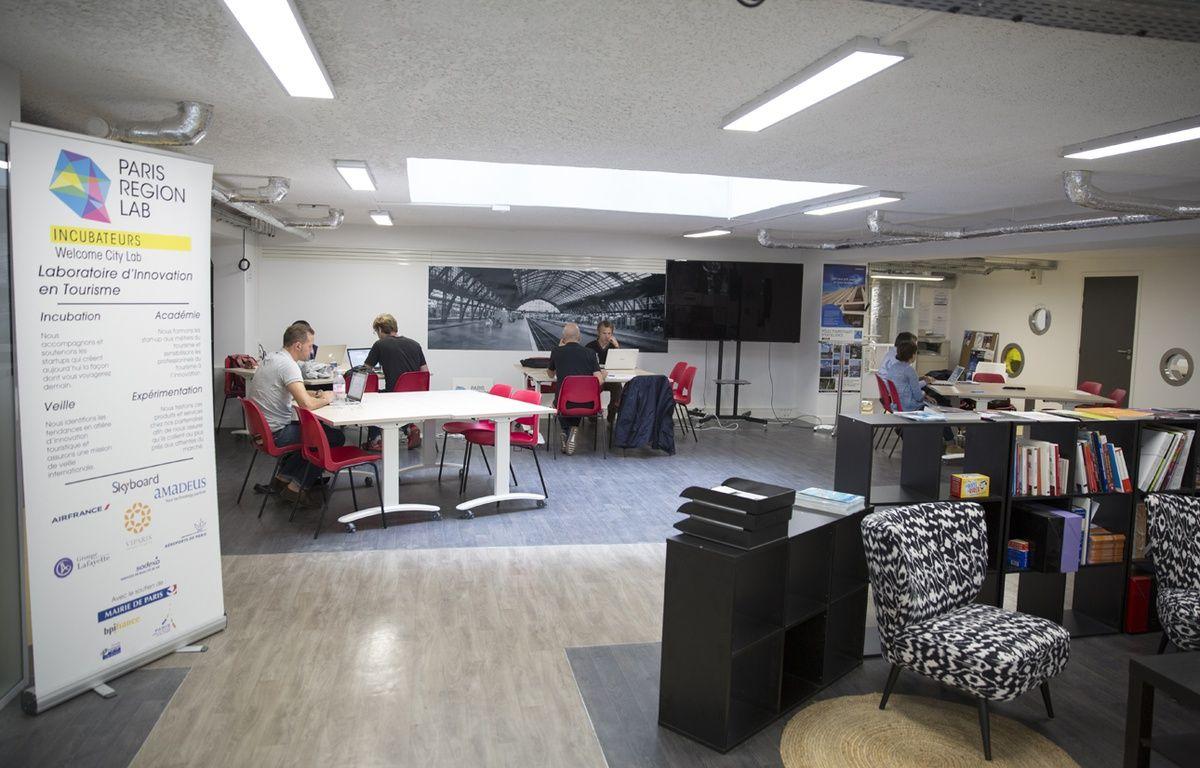 Les locaux du Welcome City Lab, incubateur dédié au tourisme à Paris. – Sophie Robichon - Mairie de Paris