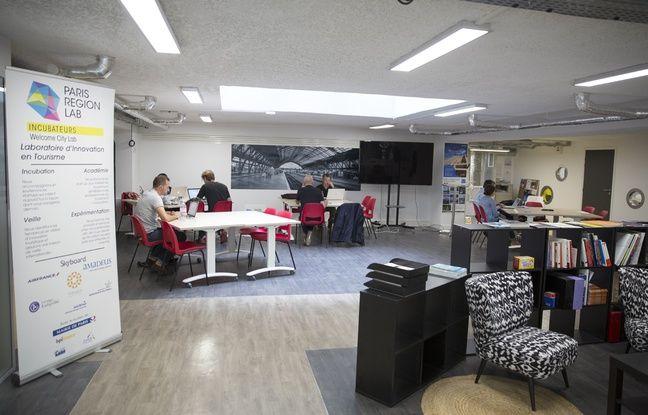 Les locaux du Welcome City Lab, incubateur dédié au tourisme à Paris.