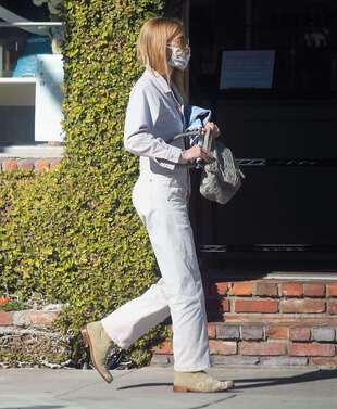 Gillian Jacobs, le 11 janvier 2021, à Los Angeles.