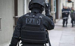 Policier du RAID. (Illustration)