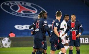 Kean a ouvert le score contre Brest.