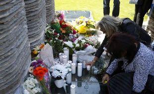 L'hommage aux victimes de Furiani, pour les 25 ans de la catastrophe, le 5 mai 2018.