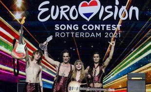 Le 23 mai 2021, le groupe italien Maneskin a remporté le concours Eurovision.