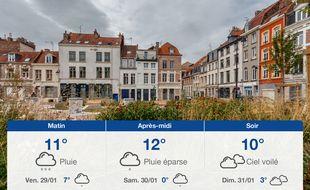 Météo Lille: Prévisions du jeudi 28 janvier 2021