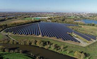La centrale photovoltaïque de la Petite Vicomté (Maine et Loire)