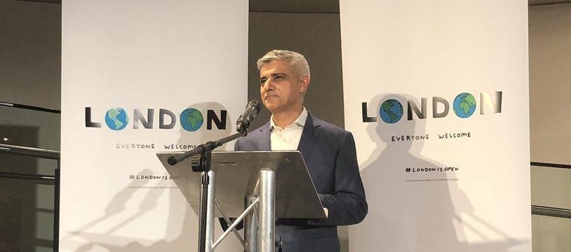 Le maire de Londres, Sadiq Khan, souhaite que les Européens installés à Londres restent dans la capitale, malgré le Brexit, ce vendredi 31 janvier.