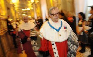 Le magistrat Gilbert Azibert, le 9 janvier 2012 à Paris.