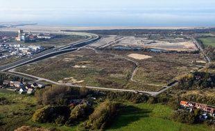 Le site de l'ancienne «jungle» de Calais.