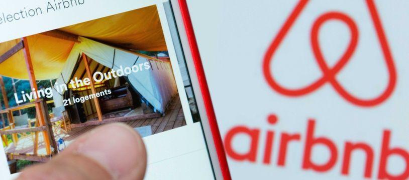 Le site de location d'hébergements entre particuliers Airbnb.
