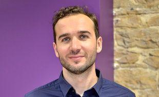 Serge Duriavig, créateur Lyonnais de la plateforme de troc de nuits entre particuliers, baptisée Nightswapping.