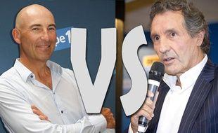 Clash entre Jean-Jacques Bourdin et nicolas Canteloup
