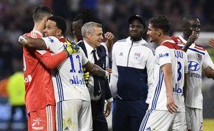 Bruno Genesio a savouré la qualification en Ligue des champions arrachée samedi contre Nice.