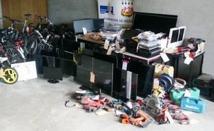 383 objets volés retrouvés à Nantes par la gendarmerie