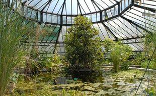Fermée depuis 2011, la serre du Jardin botanique de Strasbourg n'a pas été retenue pour le Loto du patrimoine.