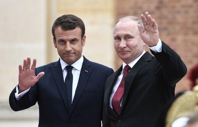 VIDEO. Russie: Emmanuel Macron et Vladimir Poutine, un face-à-face entre Jupiter et le tsar