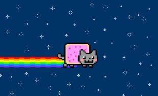 Le mythique Nyan Cat est mis aux enchères