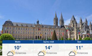 Météo Caen: Prévisions du lundi 13 mai 2019