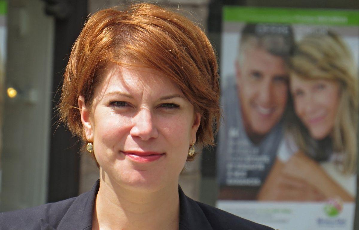 Valérie Petit, candidate sous l'étiquette La république en marche, dans la 9e circonscription du Nord. – G. Durand / 20 Minutes