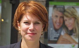 Valérie Petit, candidate sous l'étiquette La république en marche, dans la 9e circonscription du Nord.