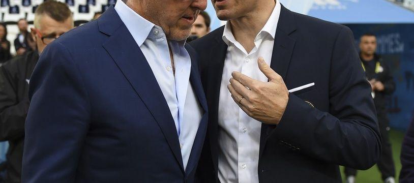 Frank McCourt et Jacques-Henri Eyraud ont assigné le duo Ajroudi-Boudjellal en justice.