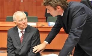 """Le ministre allemand des Finances Wolfgang Schäuble a confirmé lundi que l'Allemagne entendait s'assurer """"au premier trimestre"""" 2012 de la faisabilité d'une taxe sur les transactions financières à l'échelle de l'Union européenne."""