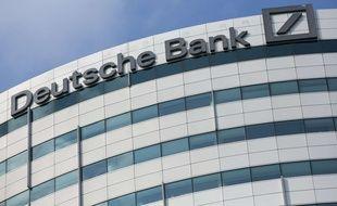 Les locaux de la Deutsche Bank à Amsterdam (Pays-Bas).