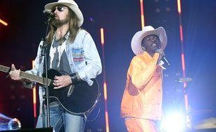 Les chanteurs Billy Ray Cyrus et Lil Nas X