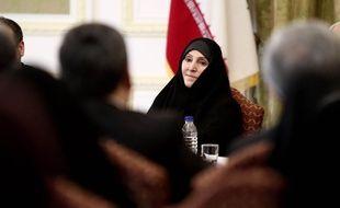 L'ambassadrice d'Iran en Malaisie, le 1er septembre 2013 à Téhéran.