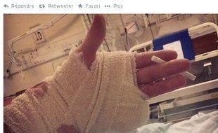 Josh, 16 ans, a perdu son petit doigt lors d'une rave party