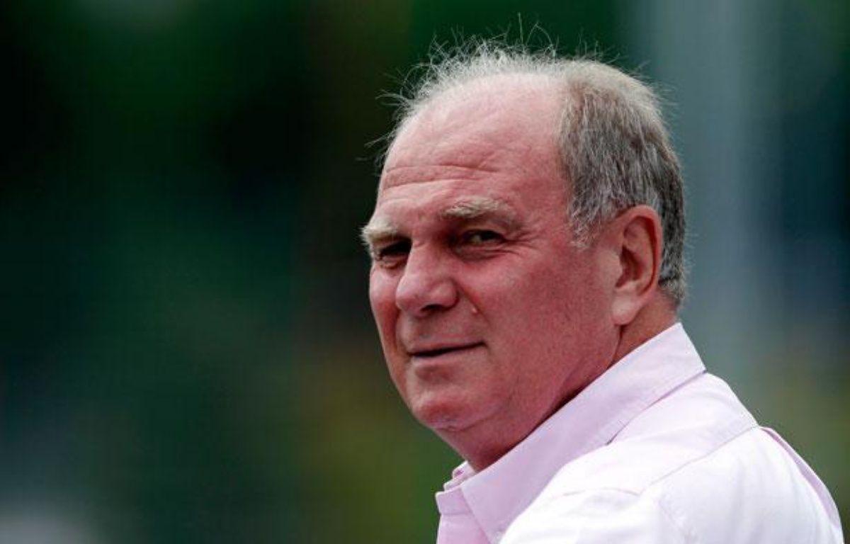 Le président du conseil de surveillance du Bayern Munich Uli Hoeness ne redoute pas le PSG. – REUTERS/Michaela Rehle