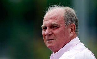 Le président du conseil de surveillance du Bayern Munich Uli Hoeness ne redoute pas le PSG.