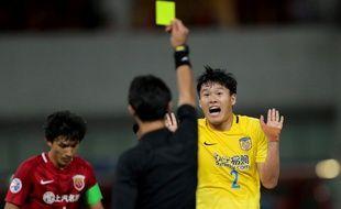 Un arbitre a été tabassé après un match très houleux en D2 chinoise, le 2 juillet 2017 (photo d'illustration).