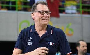 Olivier Krumbholz lors de France-Pays-Bas le 18 août 2016.