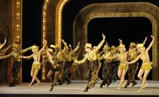 Le spectacle Singin' in the rain en VO, au Théâtre du Châtelet, à Paris.