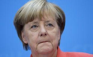Angela Merkel à Berlin le 19 septembre 2016