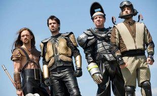 """La série fantastique et décalée """"Hero Corp"""", créée par Simon Astier."""