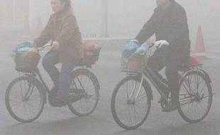 Pékin, entre pluie et pollution