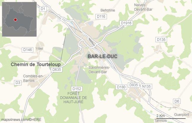 Le Chemin de Tarteloup, non loin de Bar-le-Duc (Meuse)