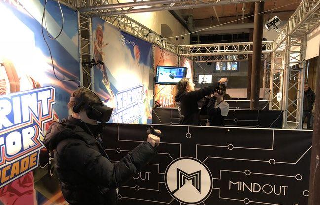La société Mindout et ses salles d'arcade VR.