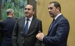 Le ministre de l'Intérieur, Christophe Castaner, et le secrétaire d'Etat à l'Intérieur Laurent Nuñez, le 3 décembre 2018.